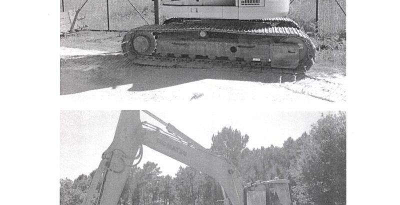Escavadora Komatsu Penhorado Licite por 11200 euros 1