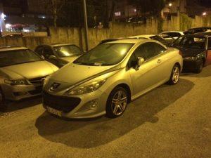 Peugeot 308 Cabrio Penhorado Licitação 5127 euros 2