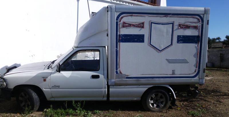 Toyota Hyluz com caixa térmica Penhorado licite por 525 euros 1
