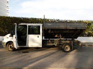 Ford Transit com caixa Hidráulica Licite por 350 euros 2