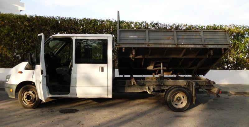 Ford Transit com caixa Hidráulica Licite por 350 euros 1