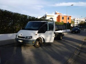 Ford Transit com caixa Hidráulica Licite por 350 euros 4