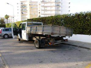 Ford Transit com caixa Hidráulica Licite por 350 euros 3