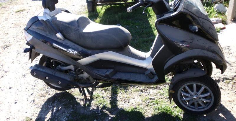 Paggio mp3 400LT de 3 rodas Penhorada Licite por 1750 euros 1