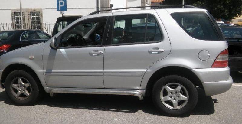 Mercedes ML 320 Penhorado Licite por 4200 euros 109