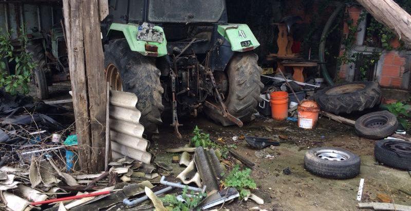Tractor Deutz DX Penhorado Licite por 70 euros 1