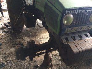 Tractor Deutz DX Penhorado Licite por 70 euros 4