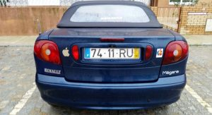 Renault Megane Cabrio Penhorado Licite por 2250 euros 5