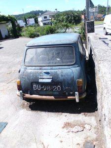 Mini Morris Penhorado Licite por 100 euros 4