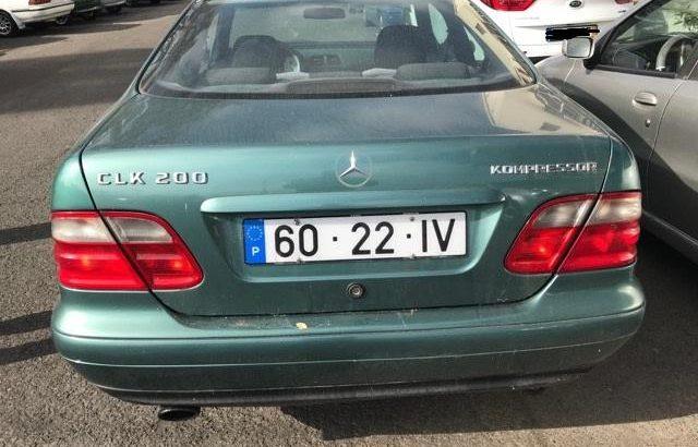 Mercedes CLK200 Kompressor Penhorado Licite por 2440 euros 1
