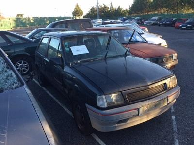 Opel corsa Penhorado Licite por 56 euros 1