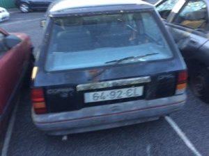 Opel corsa Penhorado Licite por 56 euros 3