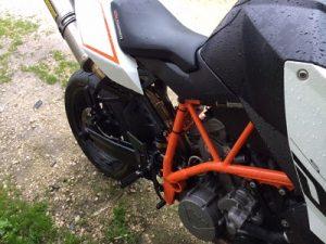 KTM Duke1000cc de 2009 Licite por 1766 euros 7