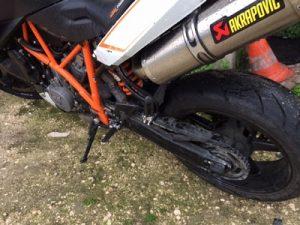 KTM Duke1000cc de 2009 Licite por 1766 euros 4