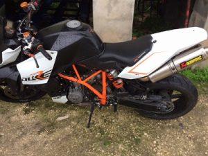 KTM Duke1000cc de 2009 Licite por 1766 euros 8
