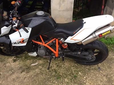 KTM Duke1000cc de 2009 Licite por 1766 euros 1
