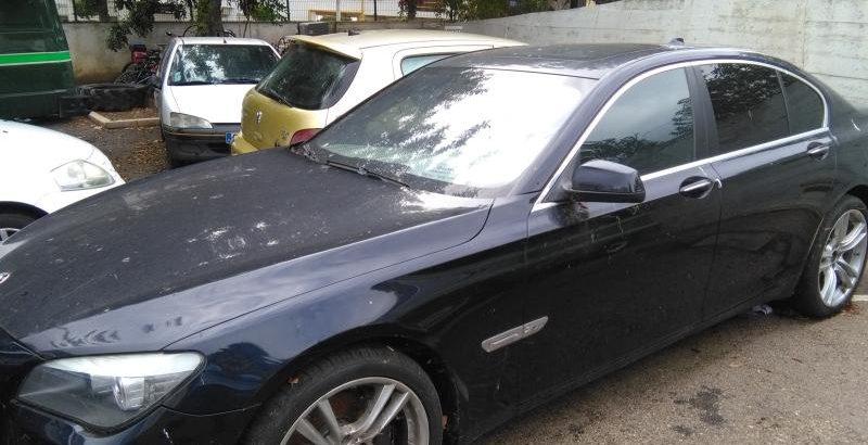 Penhorado finanças BMW Série 7 de 2010 Licite por 7000 euros 1