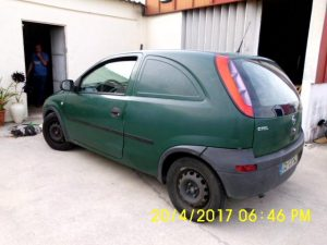 Opel Corsa Penhorado Licite por 700 euros 3