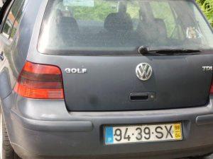 VW Golf IV Diesel Penhorado Licite por 2800 euros 2