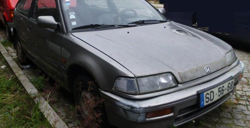 Honda Civic Penhorado Licite por 175 euros 170