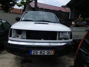 Nissan Cabine Dupla Penhorada Licite por 430 euros 2