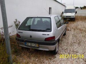 Peugeot 106 Penhorado licite por 350 euros 4