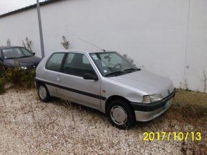 Peugeot 106 Penhorado licite por 350 euros 3