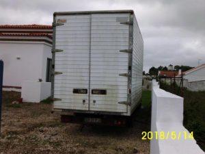 Iveco de caixa coberta Penhorada Licite por 350 euros 2