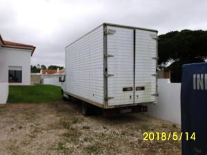 Iveco de caixa coberta Penhorada Licite por 350 euros 5