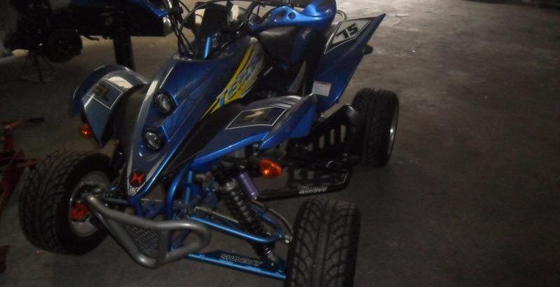 Moto 4 penhorada Licite por 700 euros 163