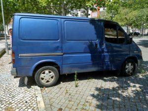 Ford Transit Penhorada Licite por 5 euros 2