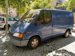 Ford Transit Penhorada Licite por 5 euros 5