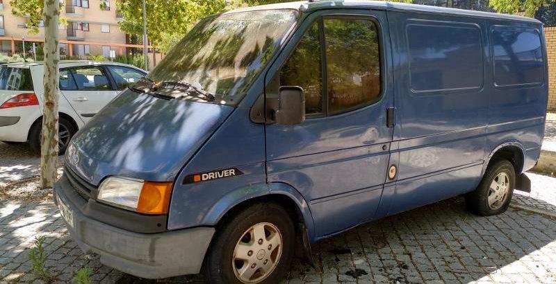 Ford Transit Penhorada Licite por 5 euros 1