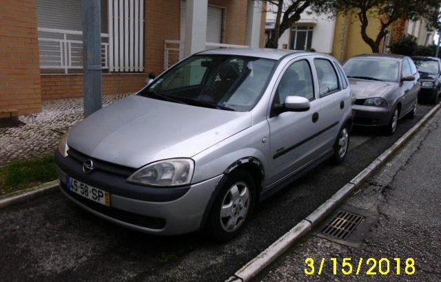 Opel Corsa a gasóleo Penhorado Licite por 466 euros 125
