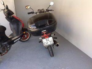 SYM com 124cc Penhorada Licite por 300 euros 4