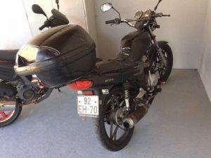 SYM com 124cc Penhorada Licite por 300 euros 5