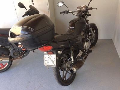 SYM com 124cc Penhorada Licite por 300 euros 133