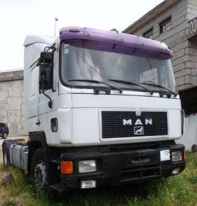 Camião Man com 18273cc Penhorado Licite por 350 euros 3