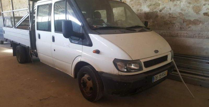Ford Transit 350E Penhorada Licite por 1050 euros 10