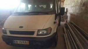 Ford Transit 350E Penhorada Licite por 1050 euros 4