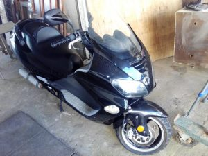 Motociclo Jonway com 125cc de 2011 Licite por 210 euros 2