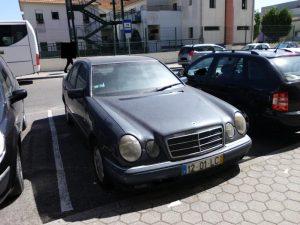 Mercedes E220 em Leilão Licite por 350 euros 2