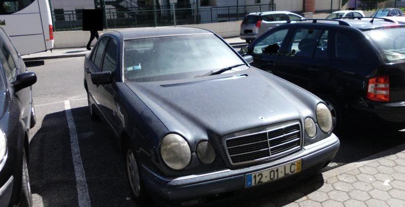 Mercedes E220 em Leilão Licite por 350 euros 1