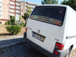 VW Transporter em Leilão Licite por 1 euro 2