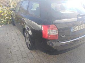 Penhorado finanças Audi A4 de 2007 em leilão licite por 2152 euros 3