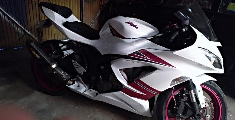 Kawasaki Ninja ZX6R penhorada Licite por 5600 euros 1