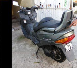 Bens Penhorados Suzuki Burgman leilão finanças 4