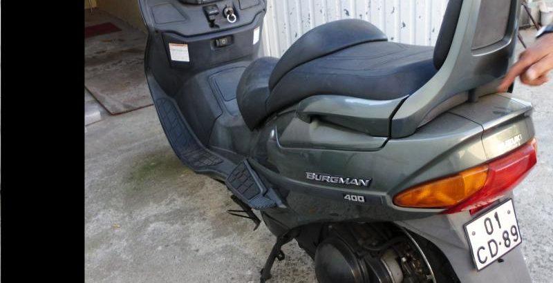 Bens Penhorados Suzuki Burgman leilão finanças 1