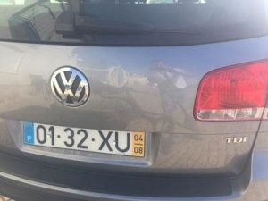 Bens Penhorados Finanças VW Touareg em Leilão 2