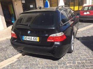 BMW Série 5 penhorado finanças em leilão 5
